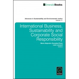 International Business, Sustainability and Corporate Social Responsibility