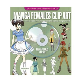 Manga Females Clip Art