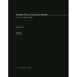 George Pólya: Collected Papers, Volume 2